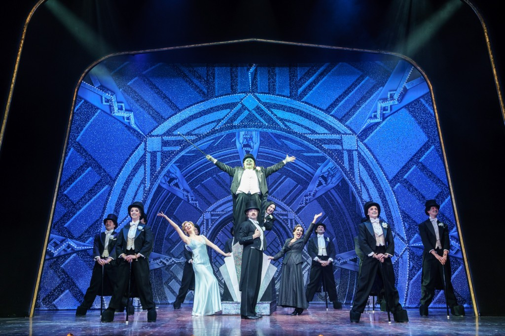 Production shot from 'Young Frankenstein' London