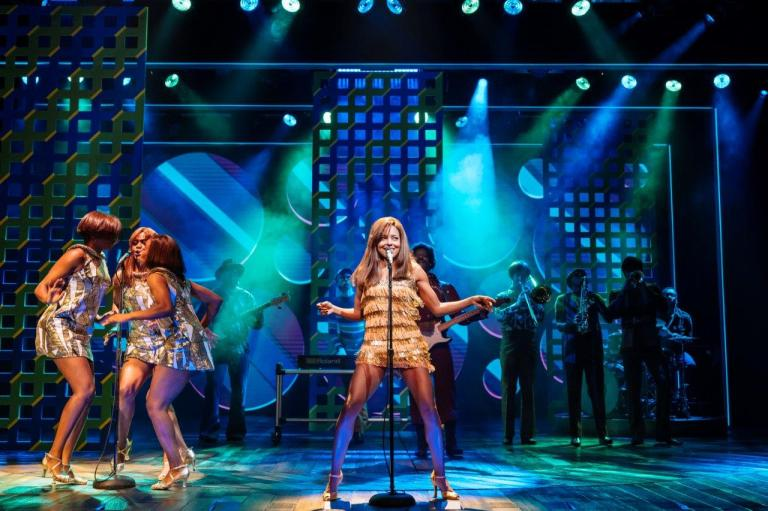 Production still from Tina - The Tina Turner Musical London