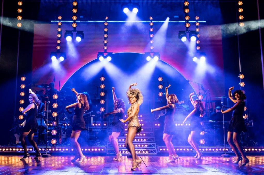 Production still from 'Tina - The Tina Turner Musical' London