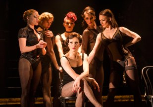 A scene from Chicago The Musical @ Phoenix Theatre, London. ©Tristram Kenton