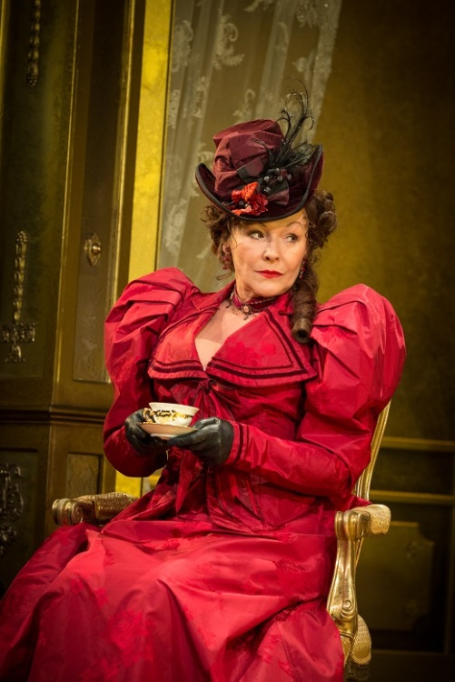 Frances Barber in Oscar Wilde's An Ideal Husband at the Vaudeville Theatre