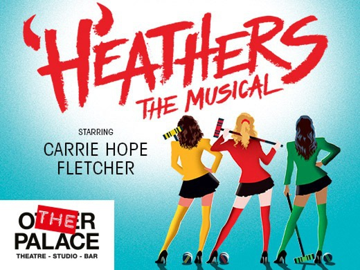 Heathers the Musical banner
