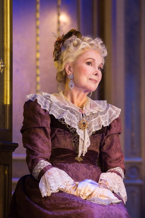 Susan Hampshire stars as Lady Markby in Oscar Wilde's An Ideal Husband