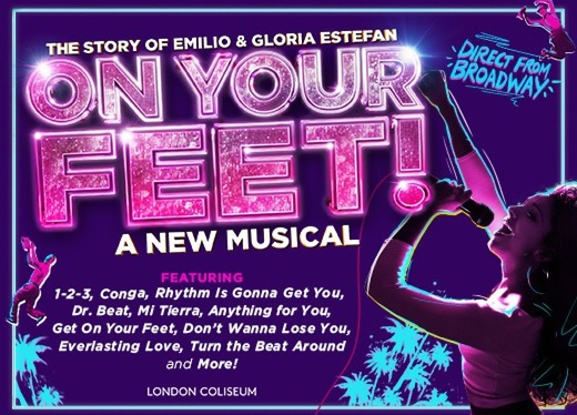 On Your Feet! – The Inspiring Story Of Gloria & Emilio Estefan To Open In London