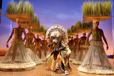 Production still from The Lion King, London