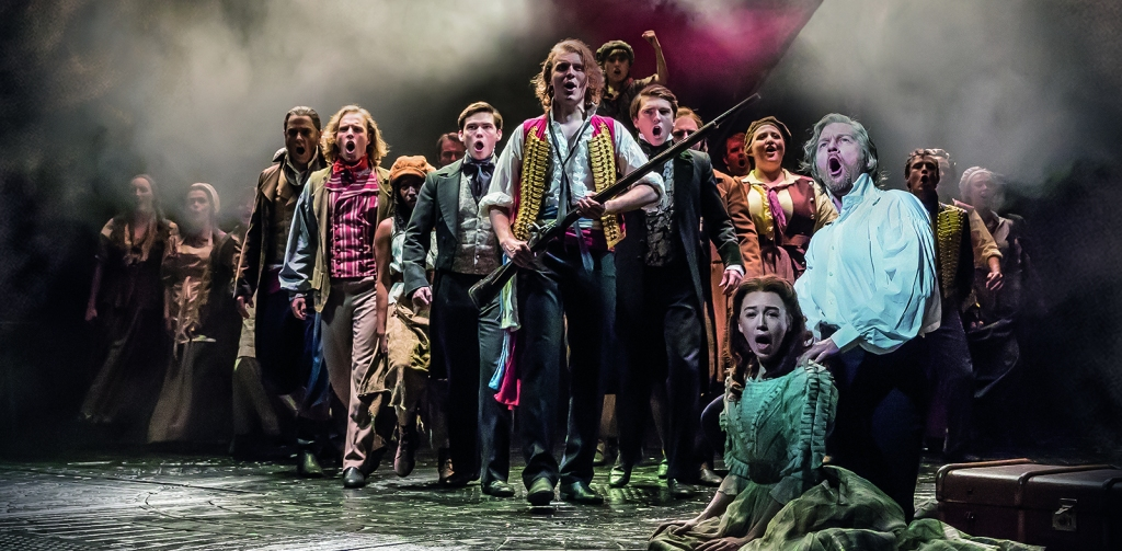 Production Still from Les Miserables London