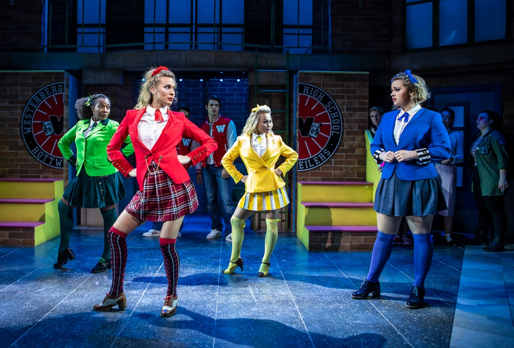Production still from Heathers the Musical at The Other Palace
