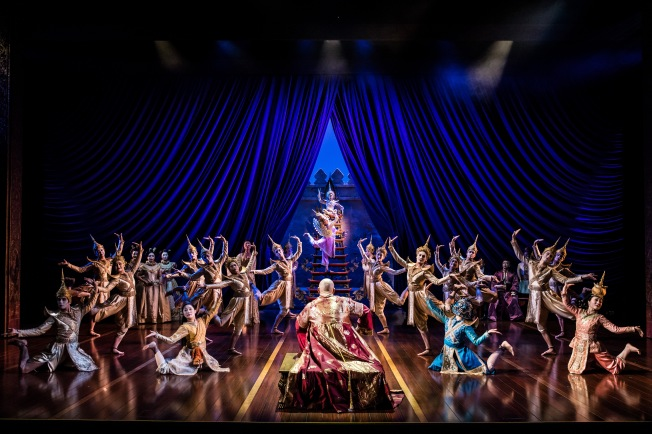 Image result for the king and I stage show london