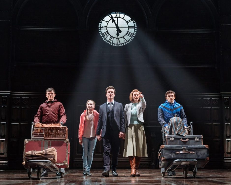 Production still from Harry Potter and the Cursed Child London