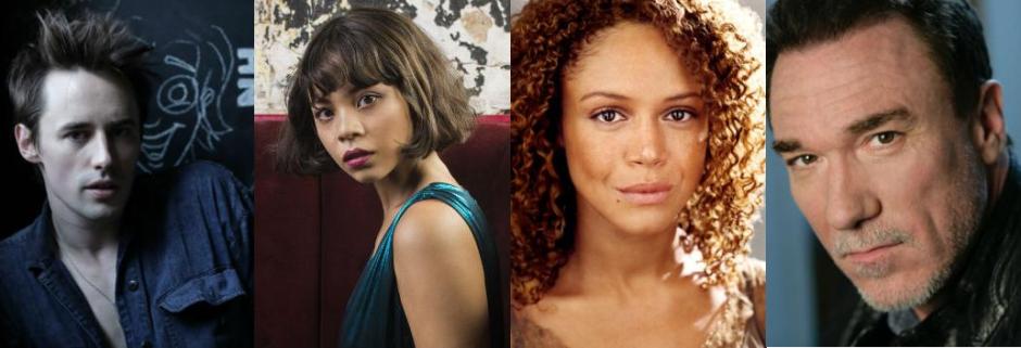 Headshots of Hadestown London cast