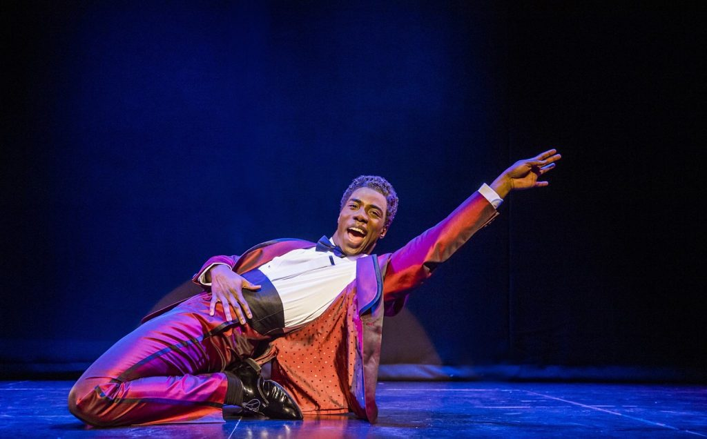Production shot from Motown the Musical London