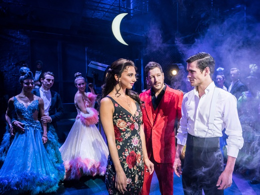 Production still from Strictly Ballroom London