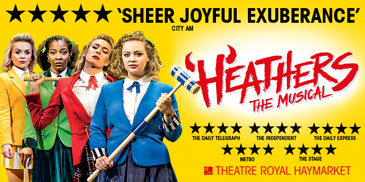 From The Box Office Reviews: Heathers The Musical