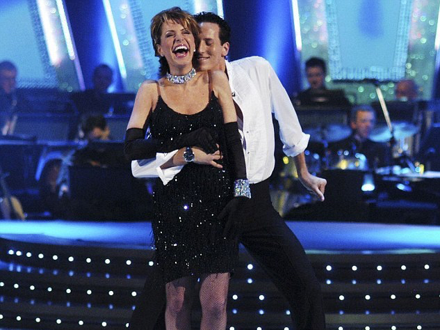 Breandan Cole and dance partner Natasha