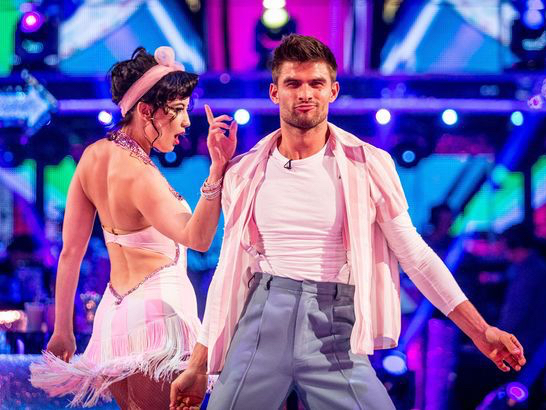 Daisy Lowe in Strictly Come Dancing