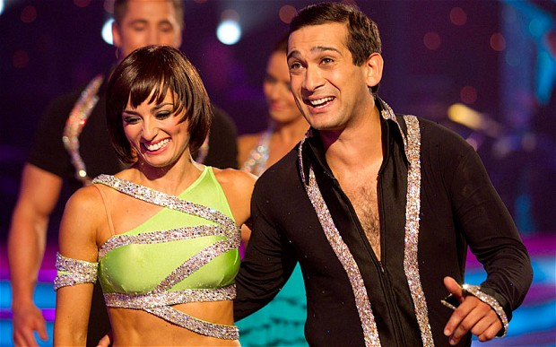 Flavia and Jimi on Strictly Come Dancing