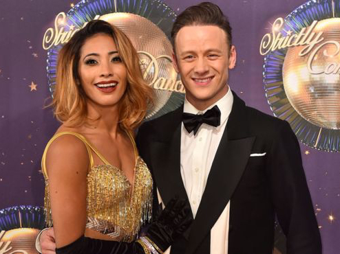 Strictly stars Kevin & Karen Clifton