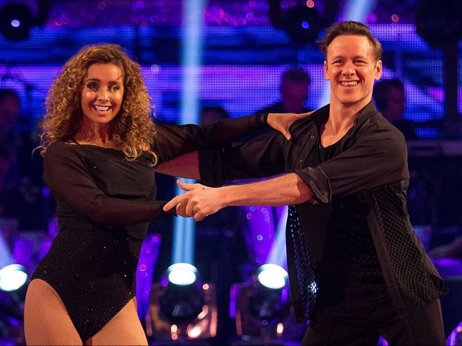 Louise Redknapp in Strictly 2016