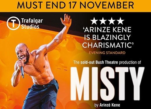 Misty exclusive: interview with ArinzéKene