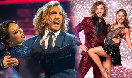 Seann Walsh and dance partner Katya