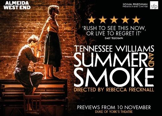 Summer & Smoke Exclusive: interview with RebeccaFrecknall