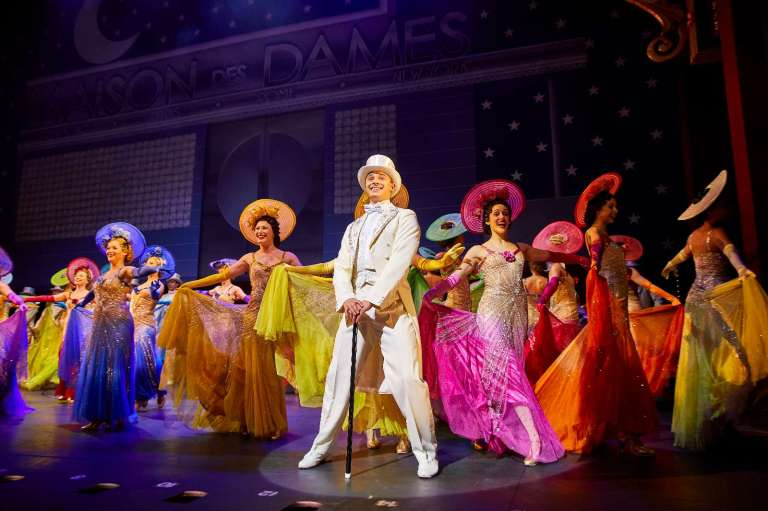 Production shot 42nd Street London