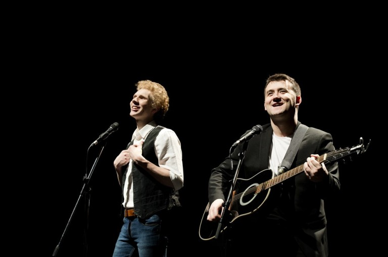 The Simon & Garfunkel Story London production still