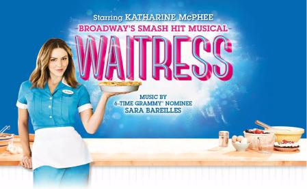 Katherine McPhee in Waitress London