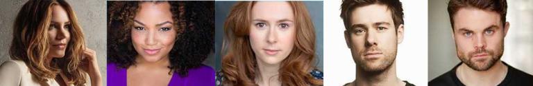 Cast headshots for Waitress musical London
