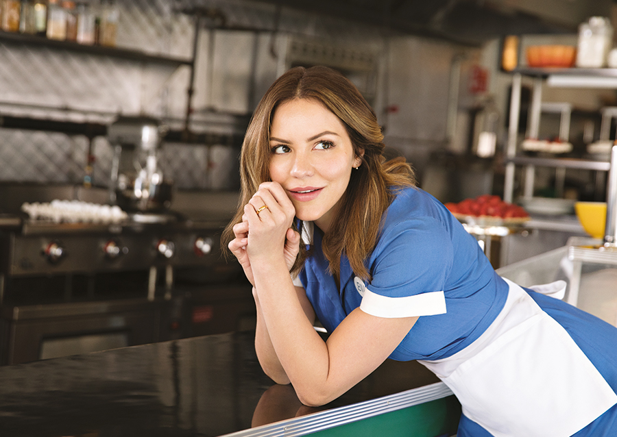 Katharine McPhee Waitress London