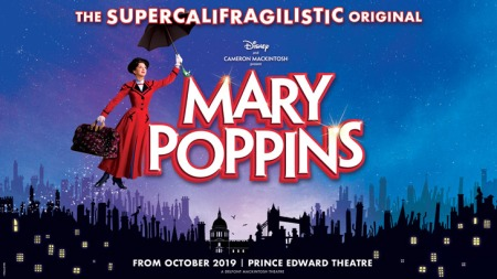 Mary Poppins London banner