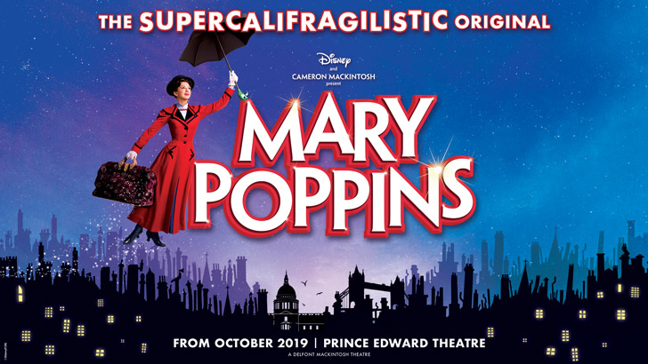 London Theatre Weekly Round-up: Mary Poppins dates, Follies and Company cast albums, All About Eve broadcast and more!