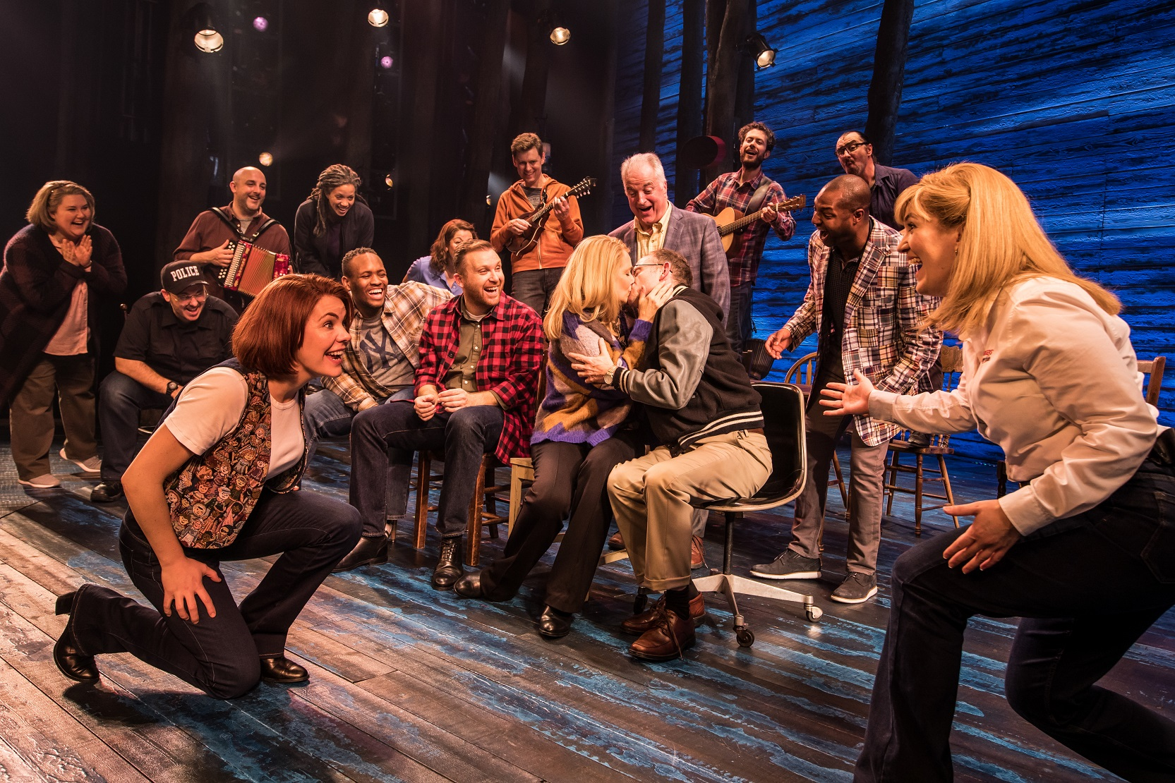 Production still, Come From Away London