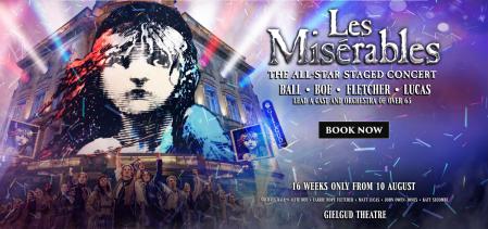 Les Miserables concert London
