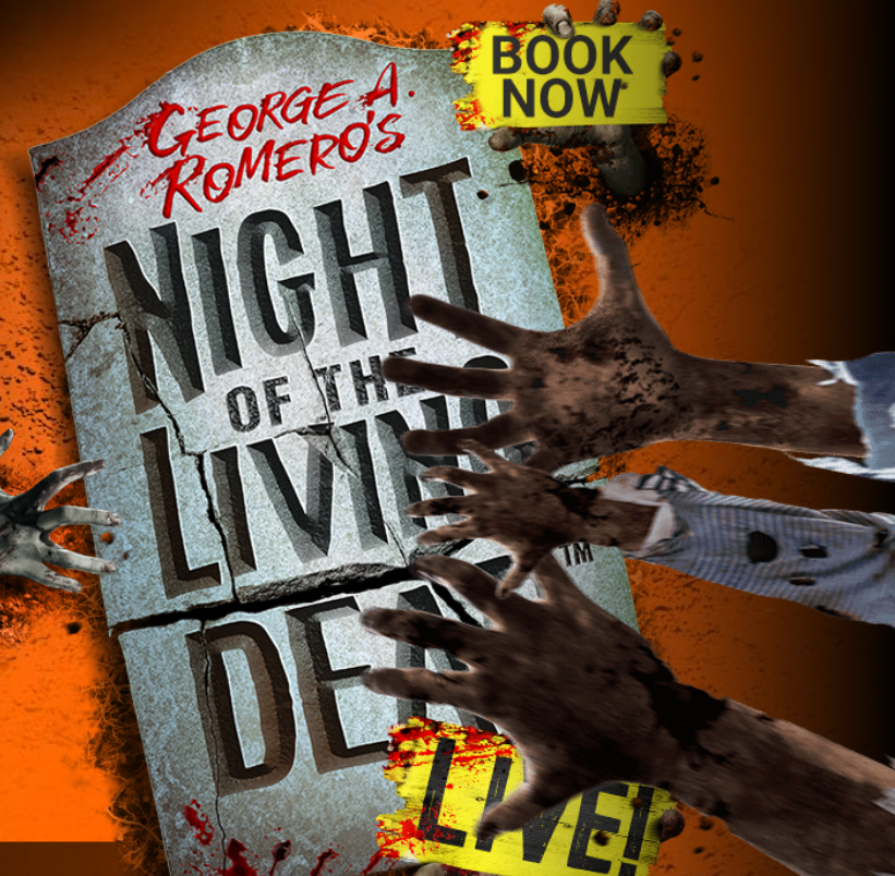 Night of the Living Dead London banner