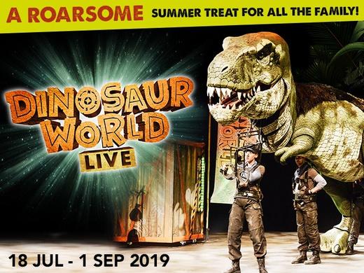 Dinosaur World Live triplet