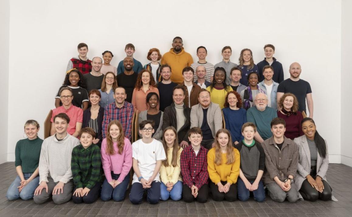 photo of Harry Potter London cast