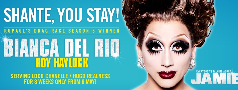 Bianca Del Rio joins the cast of Everybody's Talking AboutJamie