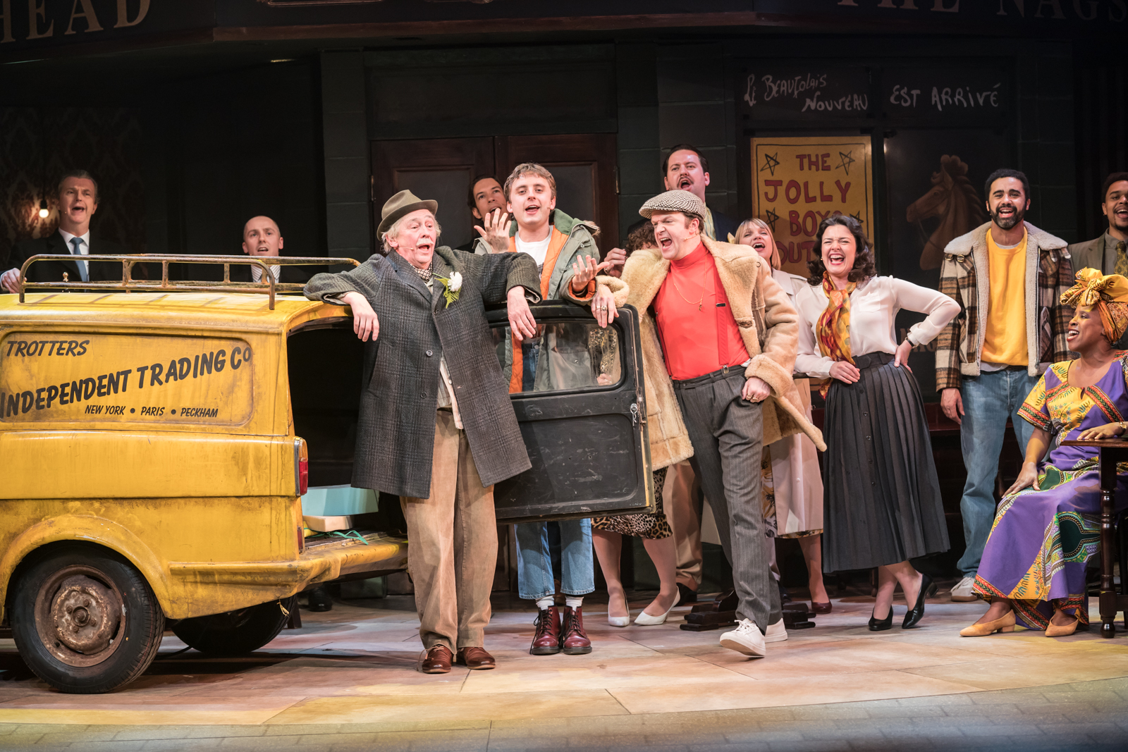 Only Fools and Horses musical production still