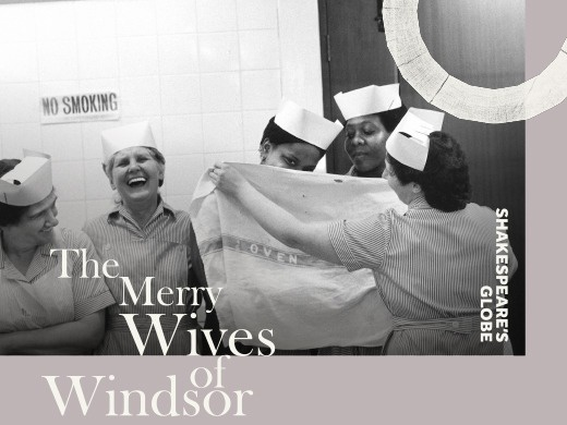 The Merry Wives of Windsor Globe banner