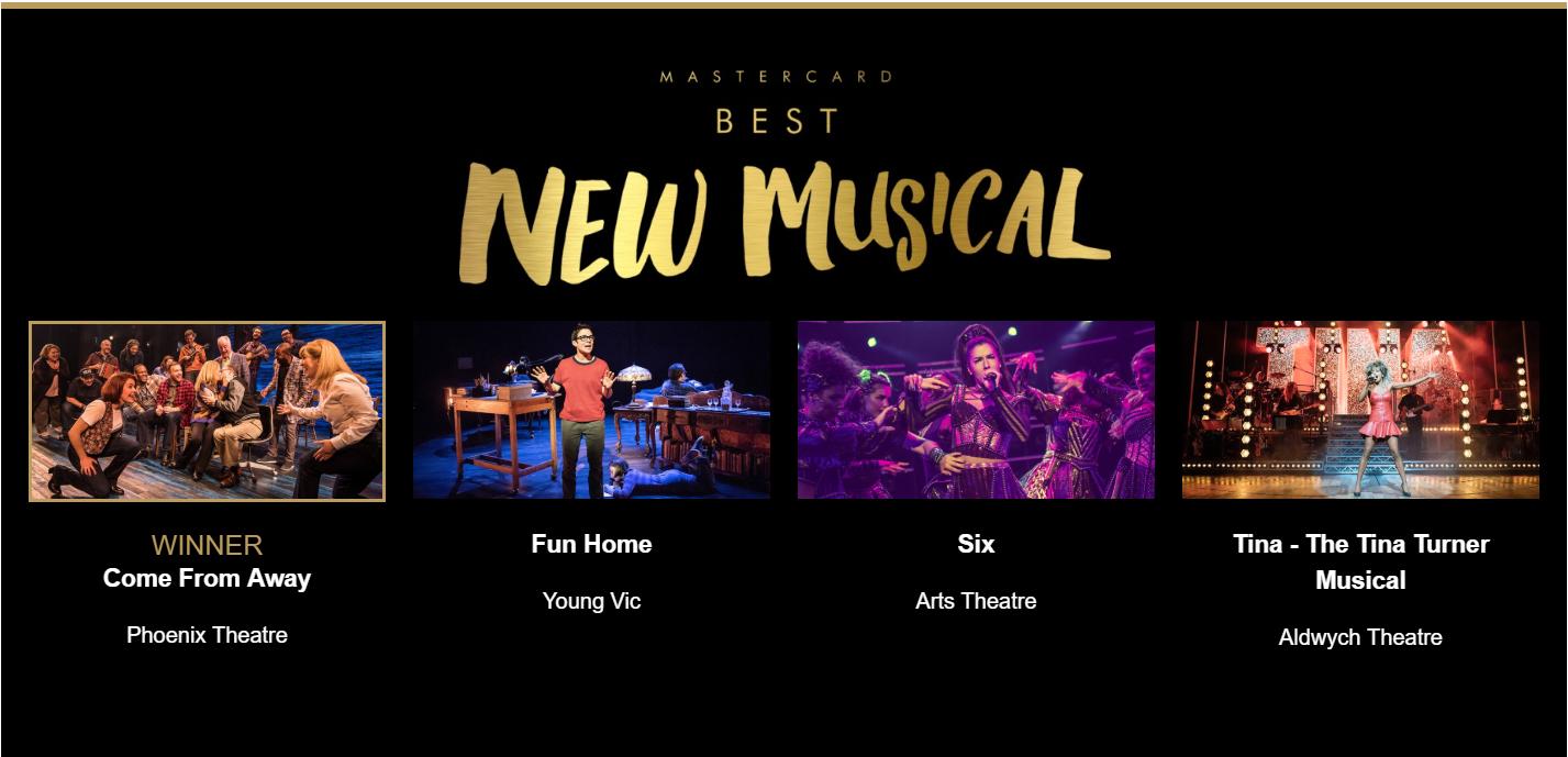 Olivier Awards 2019 Best New Musical