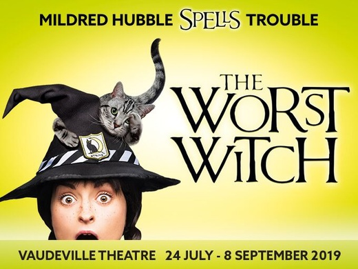 Worst Witch London banner