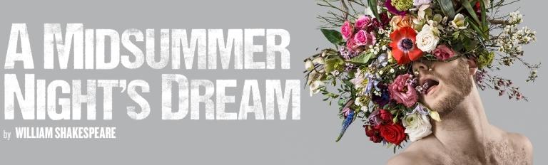 Midsummer Night's Dream Regent's Park Open Air Theatre banner