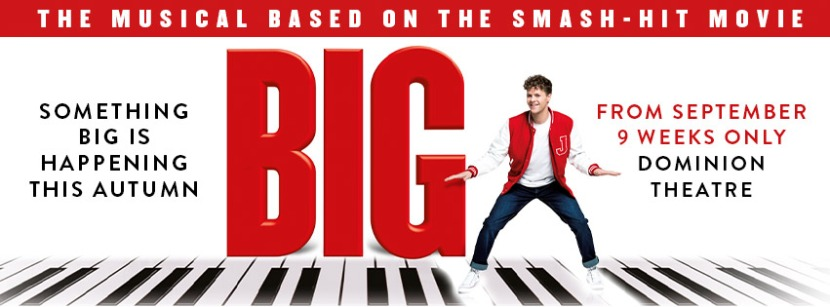 Kimberley Walsh joins the cast of BIG The Musical