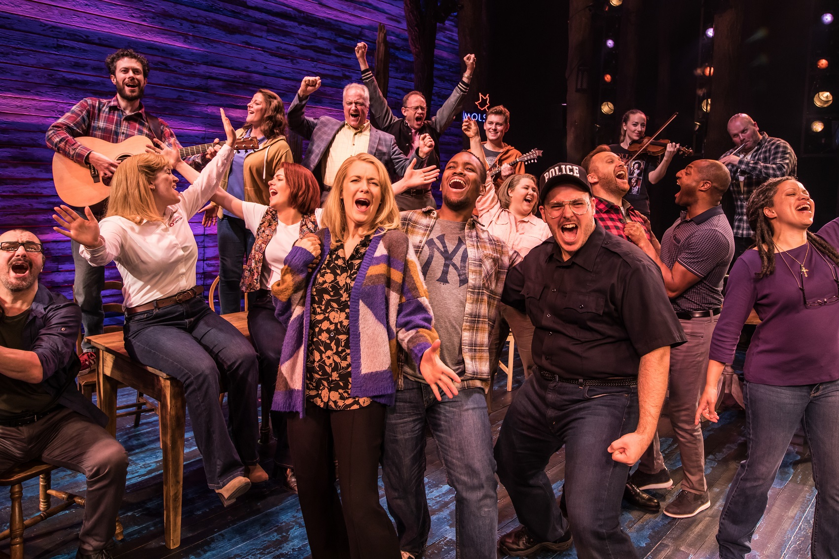 Come From Away London production still