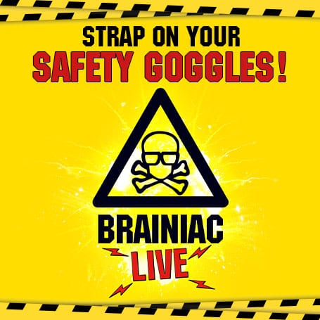 Brainiac Live banner