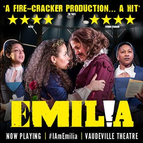 Emilia Vaudeville Theatre banner