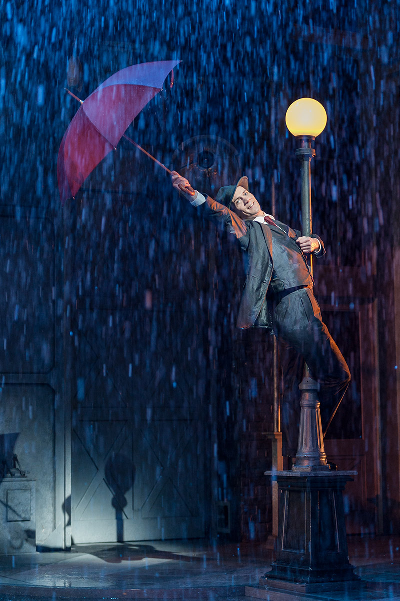 Singin in the Rain Chichester production still