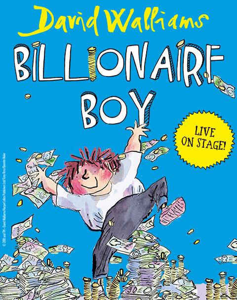 Billionaire Boy London play promo image
