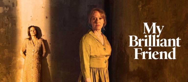 My Brilliant Friend National Theatre promo image